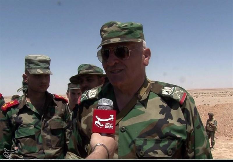 عدسة تسنیم على الحدود السوریة العراقیة.. قائد العملیات: أمریکا وأدواتها عاجزون عن إیقافنا