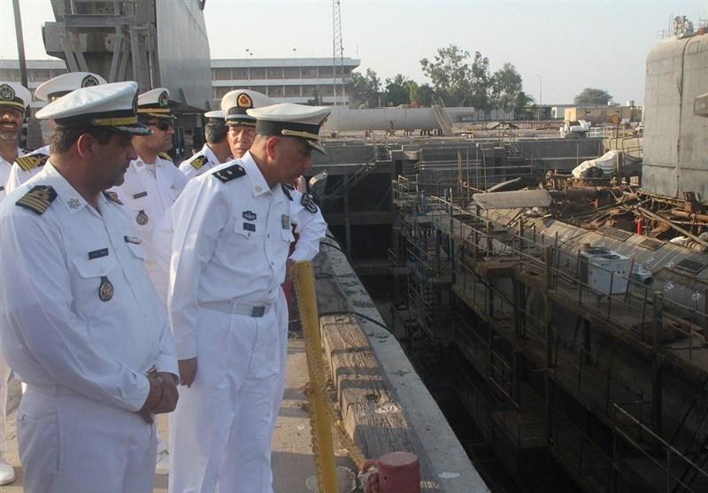 Çinli Komutandan İran Deniz Kuvvetlerine Ait Fabrikaya Övgü
