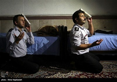 ماه مبارک رمضان در ایستگاه های آتش نشانی - مشهد