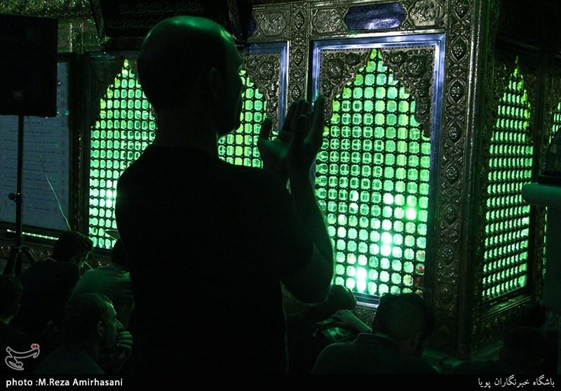 مراسم احیای شب قدر در امامزاده پنج تن لویزان