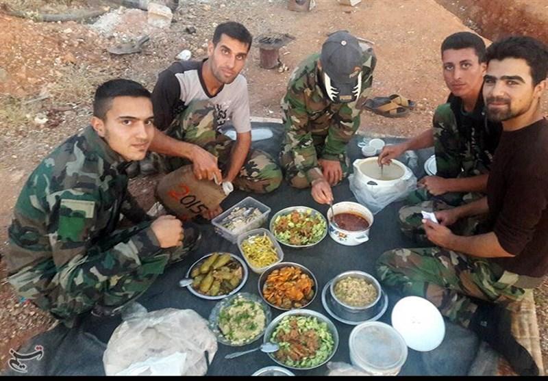 إفطار المرابطین على جبهات القتال فی الفوعة وکفریا +صور