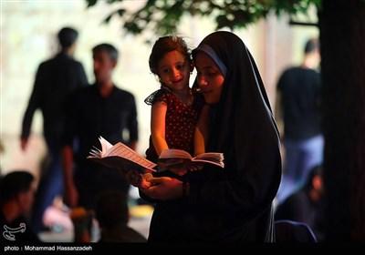 مراسم احیای شب قدر در مهدیه تهران