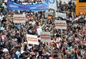 اعتراضات ضدتروریسم در کلن آلمان برگزار شد + تصاویر