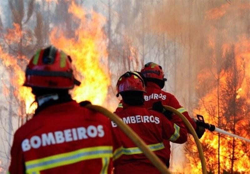 آتش در جنگلهای پرتغال همچنان قربانی میگیرد