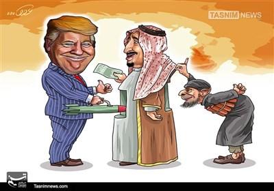 کاریکاتور/عربستان سردمدار تروریسم جهانی