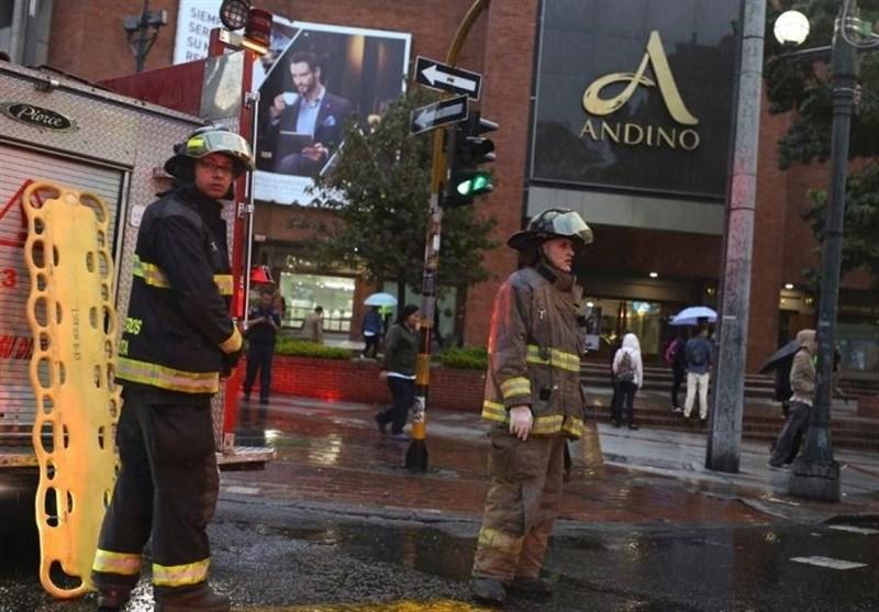 کولمبیا شاپنگ مال میں دھماکہ 3 ہلاک، متعدد زخمی
