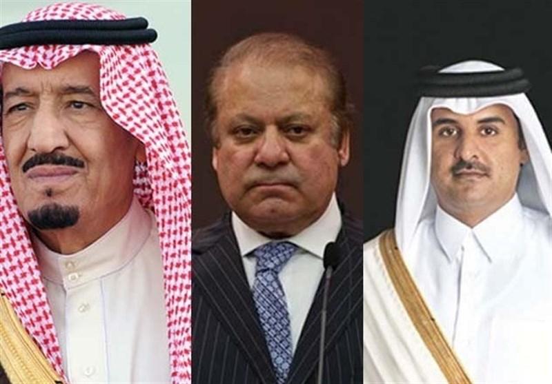 پاکستان سعودی عرب قطر