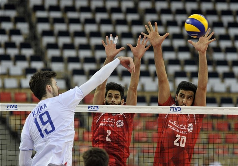 Iran Suffers Third Successive Defeat at FIVB World League