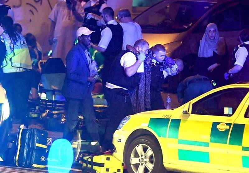 حمله به نمازگزاران لندن
