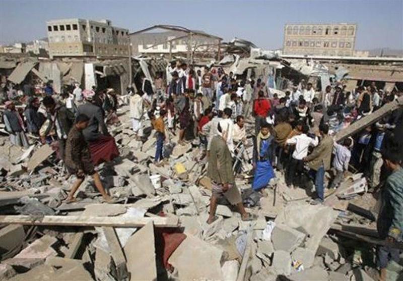 آل سعود کی یمن کے نہتے عوام پر بمباری جاری، مزید 25 شہری شہید