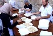 """حملة """"خسى الجوع"""" فی سوریا تقدم ملیون وجبة إفطار للفقراء الصائمین فی الشهر الفضیل +فیدیو وصور"""