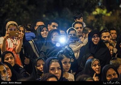 بزرگداشت شهدای کمنام محله تهرانسر