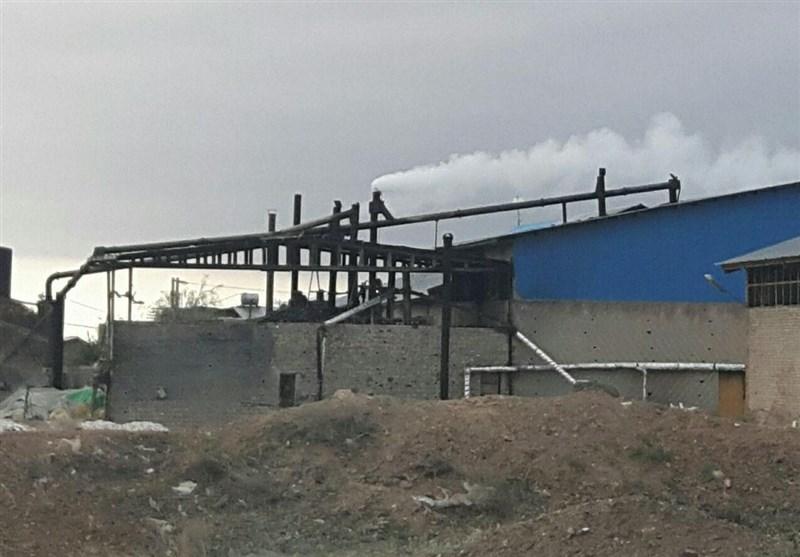 5 مورد اخطاریه زیستمحیطی برای واحدهای آلاینده دلیجان صادر شد
