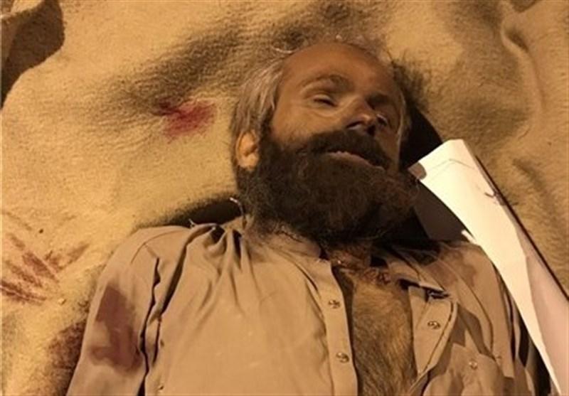 """جسد سرکرده گروهک تروریستی """"انصار الفرقان"""" به همراه 4 معاونش  در اختیار سپاه است"""
