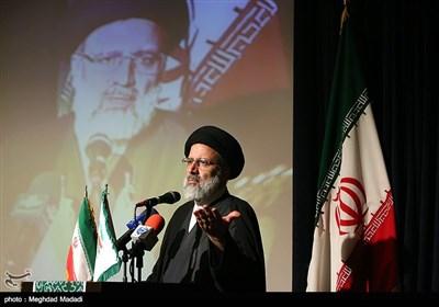 حجت الاسلام سید ابراهیم رئیسی در نشست تقدیر از فعالین جبهه مردمی نیروهای انقلاب اسلامی