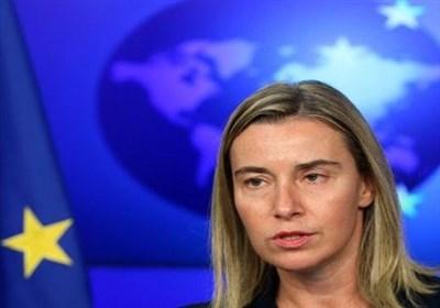موگرینی: پیشنهادی برای اعمال تحریم های جدید علیه ایران نداریم