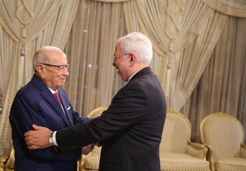 ظریف رییس جمهور تونس