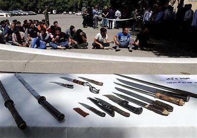 انهدام 30 باند سرقت در تهران