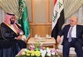العبادی: نمیخواهیم طرفی در درگیریها باشیم/ بن سلمان: هیچگونه اختلاف واقعی بین عراق و عربستان نیست