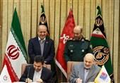 تفاهمنامه ساخت اتوبوس بین وزارت دفاع و بانک شهر امضا شد