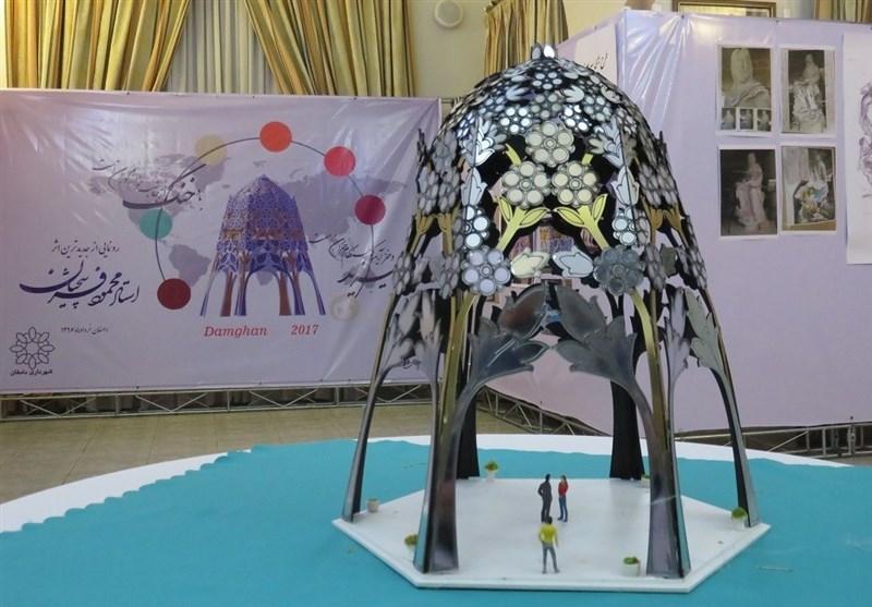 بنای یادبود منوچهری دامغانی با طراحی استاد فرشچیان در دامغان ساخته میشود