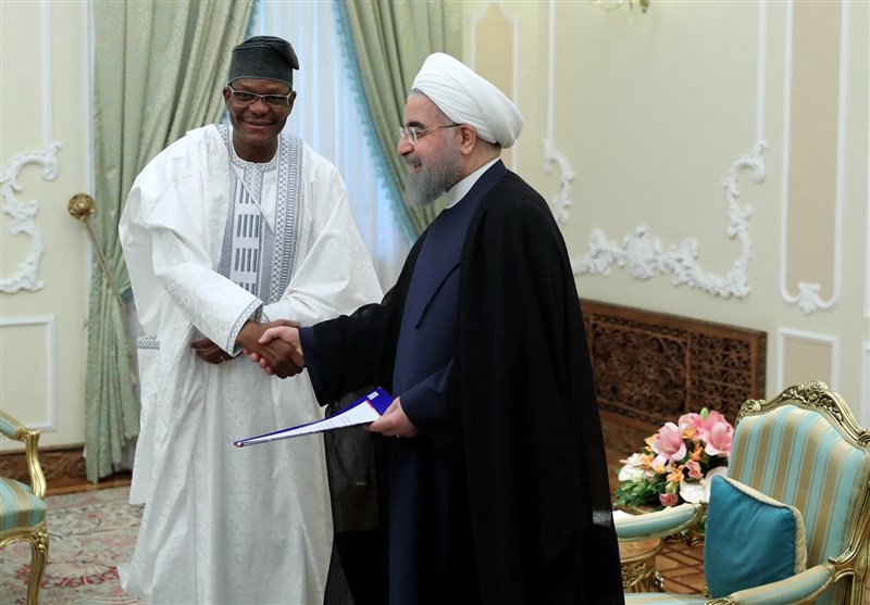 Closer Ties with African Nations Iran's Principled Policy: Rouhani