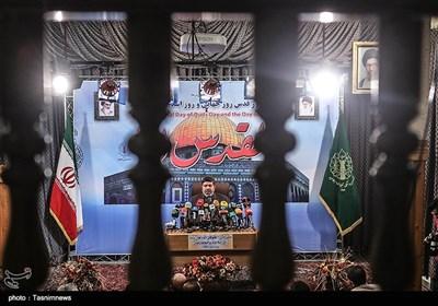 نشست خبری رئیس ستاد مرکزی انتفاضه و قدس