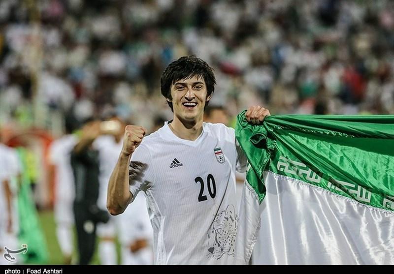 West Ham Wants Iran's Sardar Azmoun: Report