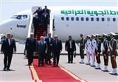 رئیس الوزراء العراقی یصل طهران ویبدأ سلسلة لقاءات+صور