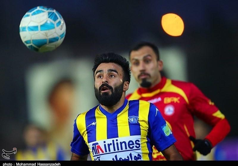ابراهیمزاده: پارس جنوبی را دستکم گرفته بودیم/ تلاش میکنیم در اصفهان امتیاز بگیریم