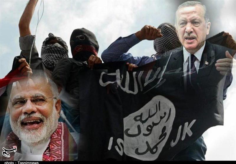 ترکی بھارت داعش
