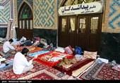 کرج| برگزاری اعتکاف در بیش از 100 مسجد استان البرز همزمان با ایام نوروز