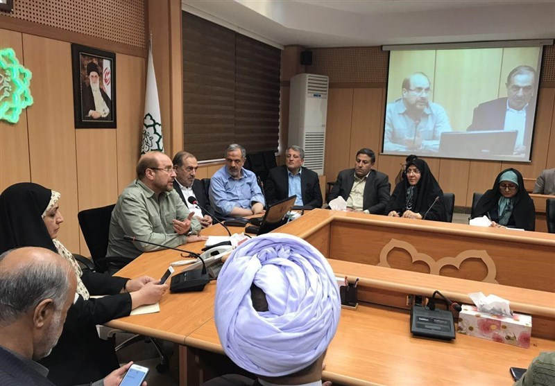 جلسه قالیباف با اعضای جدید شورای شهر