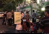 طرح افطاری دانش آموزان مدرسه رفاه در ماه مبارک رمضان + فیلم و عکس