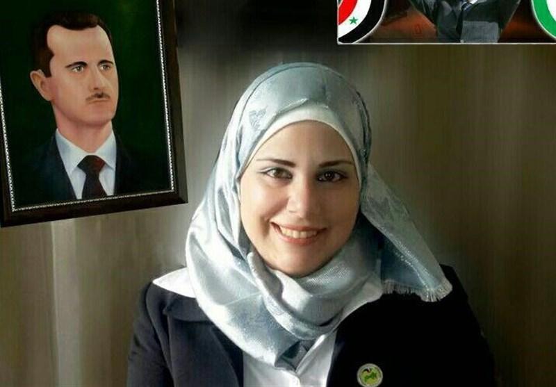 «منال الشیخ امین» عضو پارلمان سوریه