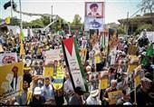 انطلاق مسیرات یوم القدس العالمی... طوفان الشعب الثوری لإیران الإسلامیة ضد نظام قاتل الأطفال