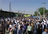 حضور مردم ایرانشهر در راهپیمایی روز قدس
