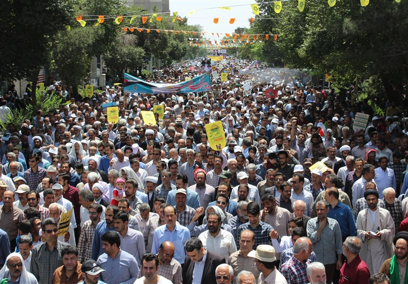 Destruction of Israel Muslim World's Top Priority: Quds Day Statement