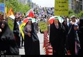 راهپیمایی روز جهانی قدس در تهران-1