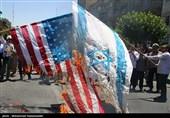 بالصور.. الشعب الایرانی یسطر ملحمة أخرى فی مسیرات یوم القدس العالمی