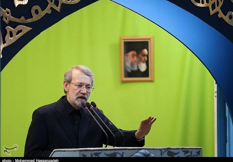US-Israeli Plan for Deal of Century Nothing but Illusion: Iran's Larijani