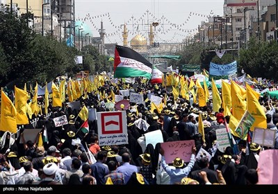 Iranians Stage Nationwide Rallies on Quds Day