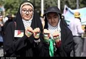 راهپیمایی روز قدس - مشهد و همدان