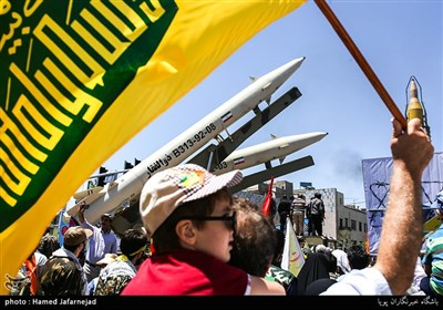 Demonstrators Take to Streets in Tehran on Int'l Quds Day