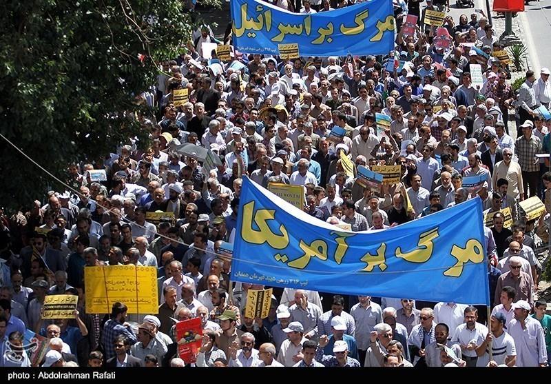 ابناء المحافظات الایرانیة یشارکون فی مسیرات یوم القدس العالمی+صور