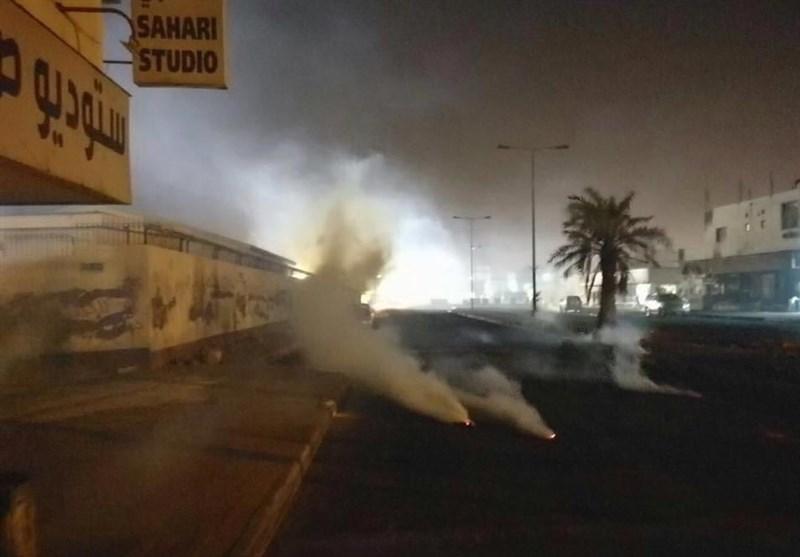 Bahreyn Güvenlik Güçleri İle Gösteri Yapan Halk Arasındaki Çatışma