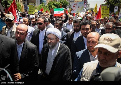 مسیرة یوم القدس العالمی فی طهران+صور