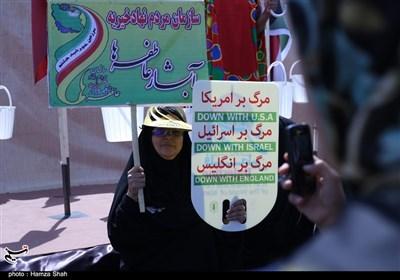 مشہد المقدس: تحریک آزادی یوم القدس کے مناظر