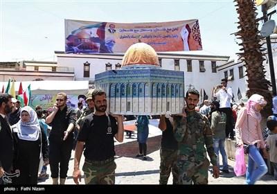 راهپیمایی روز جهانی قدس در سوریه