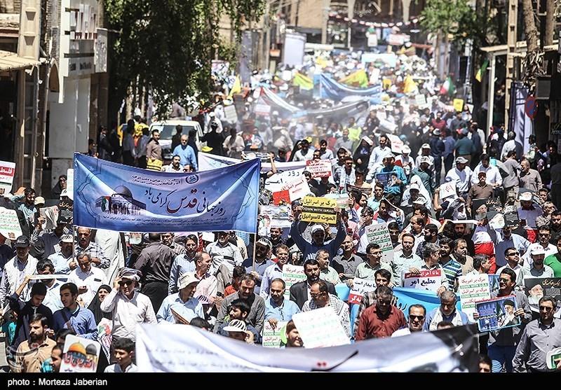 خرمآباد|مسیرهای راهپیمایی روز جهانی قدس در استان لرستان اعلام شد